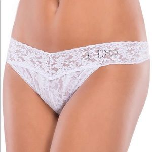 coquette Intimates & Sleepwear - Wedding Panties I Do Rhinestones Baby Blue Thongs